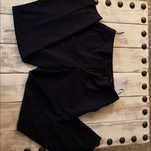 Women's Navy Dress Pants